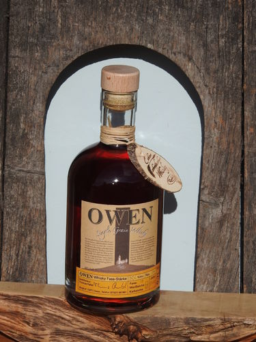 OWEN Single Grain Whisky Fass-Stärke 53% Vol. 0,7l