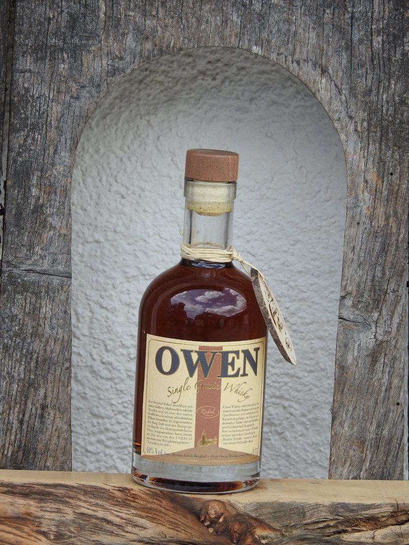 Owen single grain whiskey
